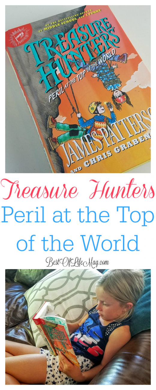 Treasure Hunters: Peril at the Top of the World is a fun and exciting book that is great for kids from ages 8-12 and other fans of the series!