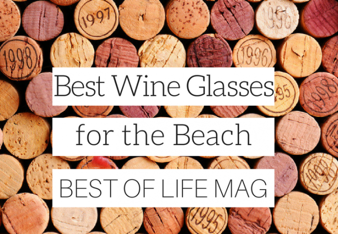 Heading to the beach doesn't mean leaving your favorite wine at home. With these awesome wine glasses for the beach you can travel with your favorite vino!