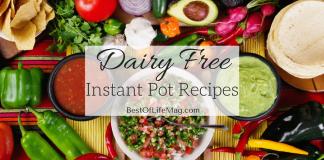 The Instant Pot is a great way to create tons of different recipes in no time! These are some of the best options that are also diary free!