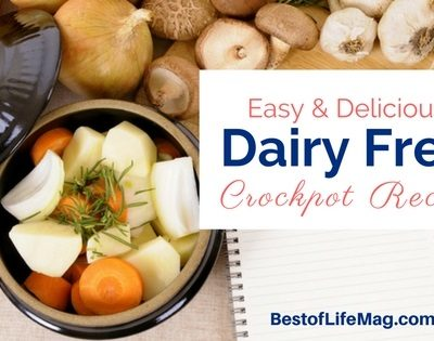 Easy and Delicious Dairy Free Crockpot Recipes