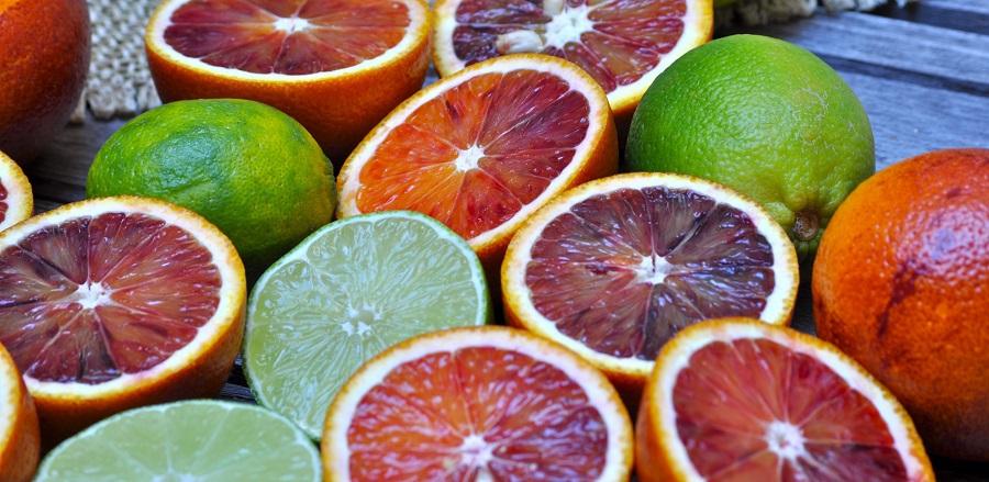 Fruity Margarita Recipes Close Up of Sliced Blood Oranges