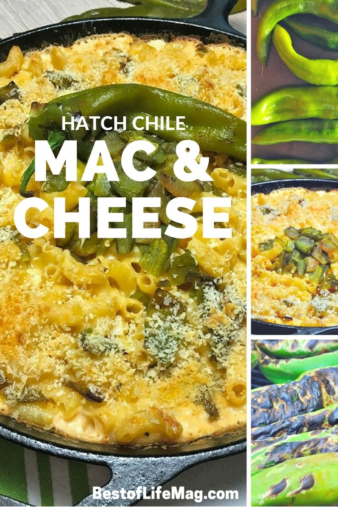 This Hatch chile mac and cheese recipe adds a subtle kick without overpowering the creamy mac and cheese that everyone loves! via @amybarseghian