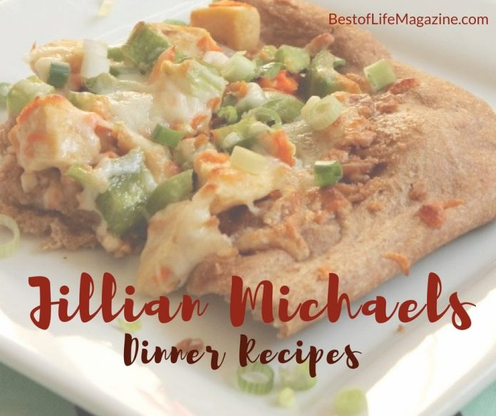 These Jillian Michaels dinner recipes can help you end the day right and keep that weight off.