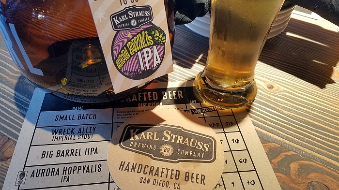 Karl Strauss Hand Crafted Beer