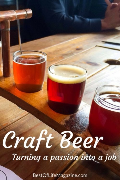 Getting a job in the craft beer industry requires more than just a favorite beer, and there is one example of all you need.