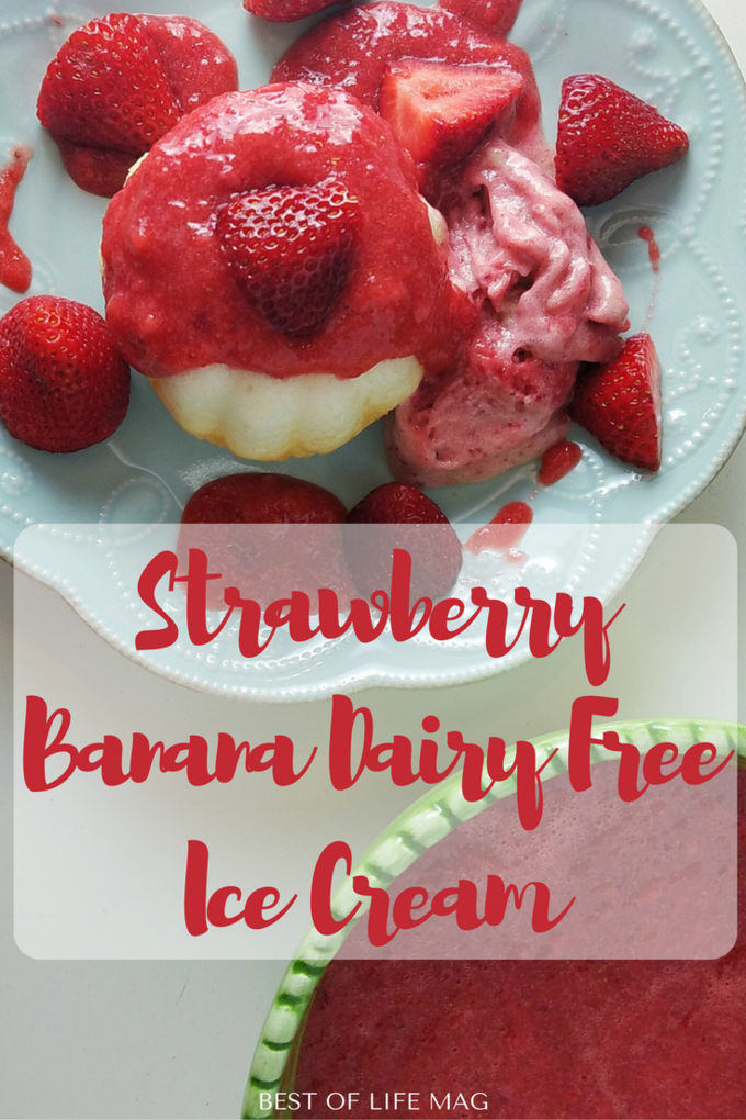 This dairy free ice cream recipe is great for anyone with a sensitivity, it's also great for satisfying that craving without all the added fat and calories!