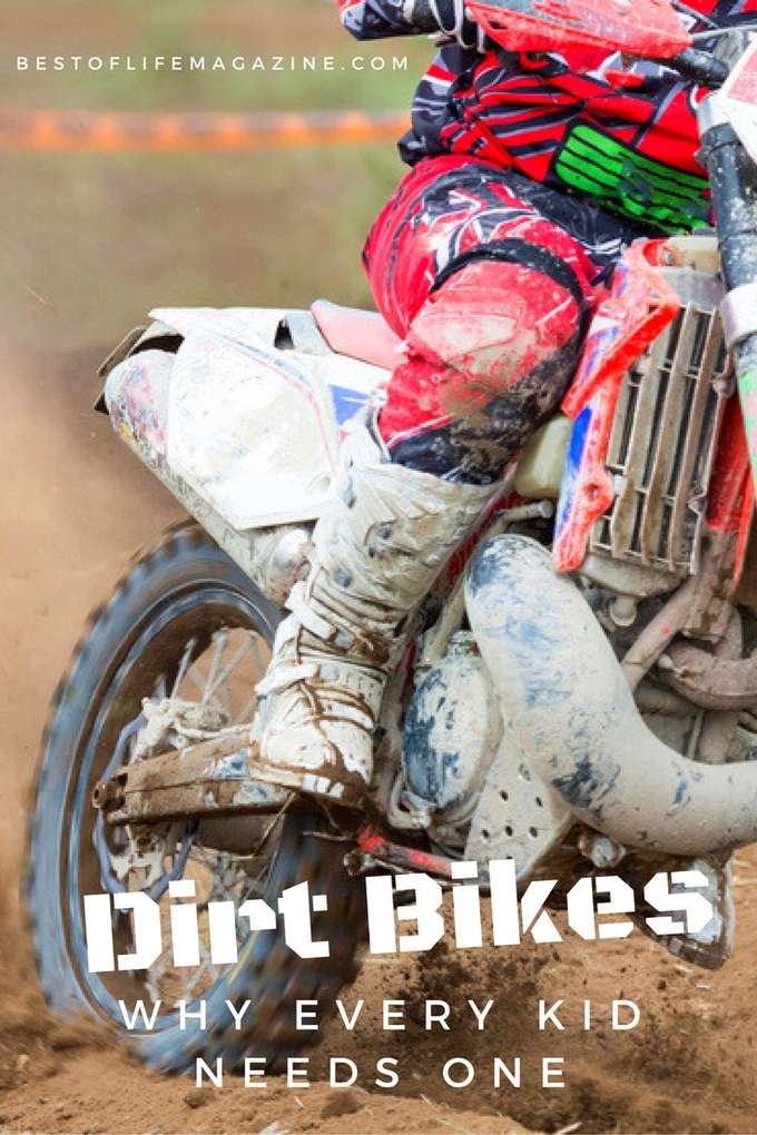 Every kid needs to experience the thrill of a responsive throttle, of hearing nothing but the engine whining and the wind rushing past you, and of leaning into a turn and throttling out of it on a dirt bike. via @amybarseghian
