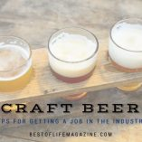 getting a job in the craft beer industry