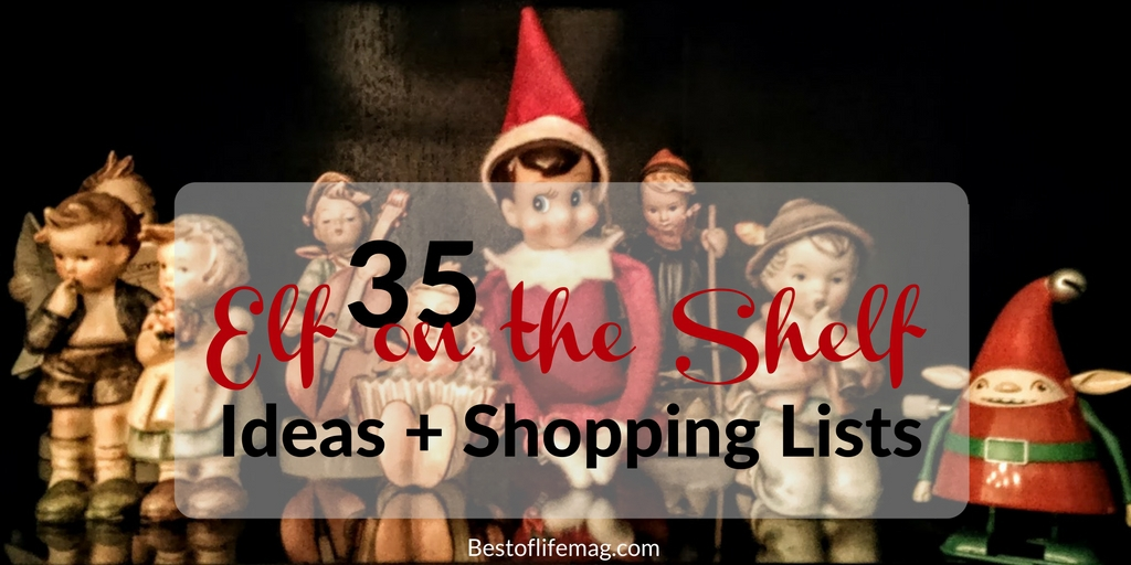 It will soon be time for Elf on the Shelf fun to begin! I can't wait, in the meantime, here are some great ideas, supplies, and more!