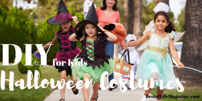 This year get creative and save money with some of the best DIY Halloween Costumes for Kids! Halloween Party Ideas | Cheap Halloween Costumes | Easy Halloween Costumes | DIY Disney Costumes | DIY Animal Costumes | Happy Halloween Costumes | Not Scary Halloween Costumes for Kids