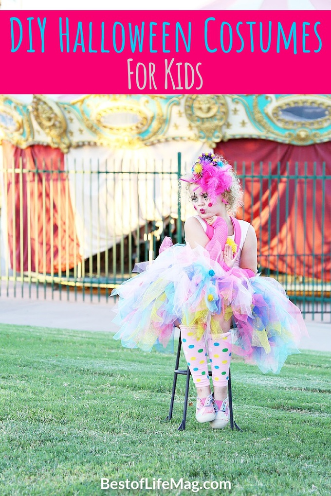 Buying costumes can get expensive; instead get creative with some fun DIY Halloween costumes and save some money for the candy. DIY Costumes for Boys   Last Minute DIY Costumes for Kids   DIY Costumes for Girls Last Minute   Scary Costumes for Girls   Scary Costumes for Boys   Disney Costumes for Kids   Costumes for Kids Who Don't Like Costumes   Costumes for Kids DIY Boys #halloween #diy via @amybarseghian