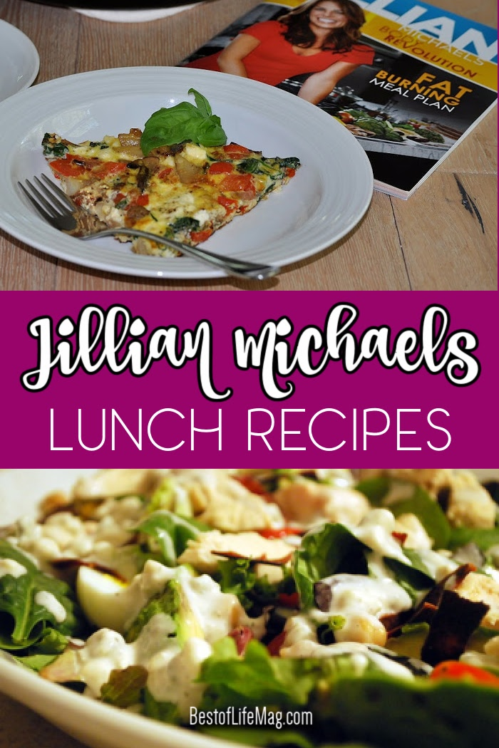 Jillian Michaels lunch recipes can help you get through your day and live a healthy life whether you're on the go or staying home. Jillian Michaels Meal Plan | Weight Loss Recipes | Recipes to Lose Weight | Jillian Michaels Recipes | Lunch Ideas | Lunch Recipes via @amybarseghian