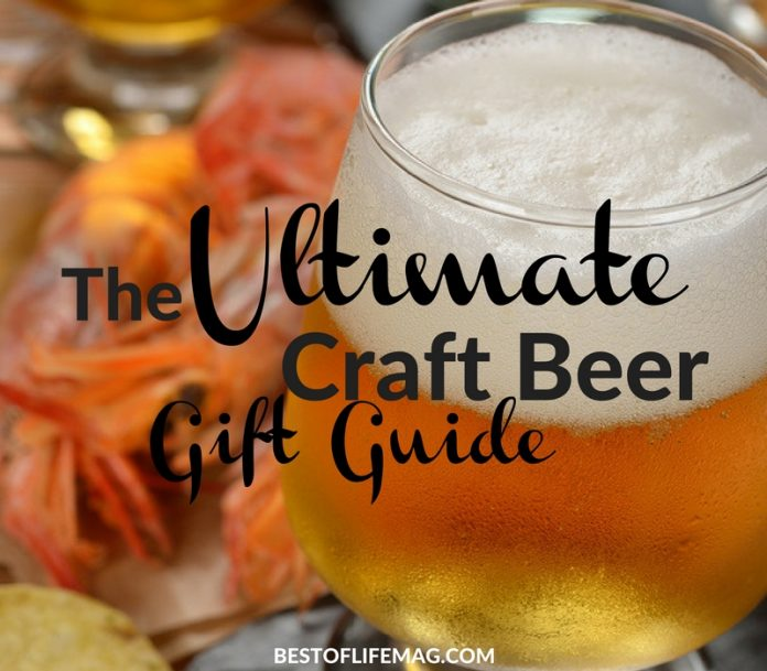 Shopping for craft beer lovers is easier than you might think! The rising popularity of craft beer gifts has made them more accessible than ever!