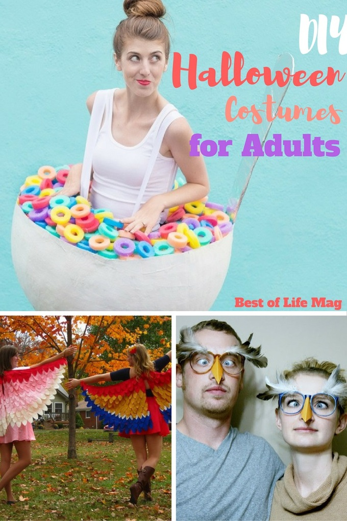 DIY Halloween costumes for adultsallow you to save money and have some real fun in the process!
