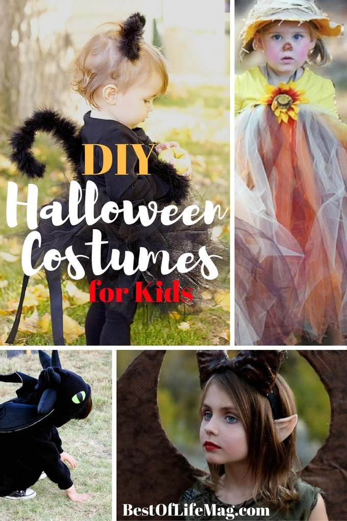 This year get creative and save money with some of the best DIY Halloween Costumes for Kids!