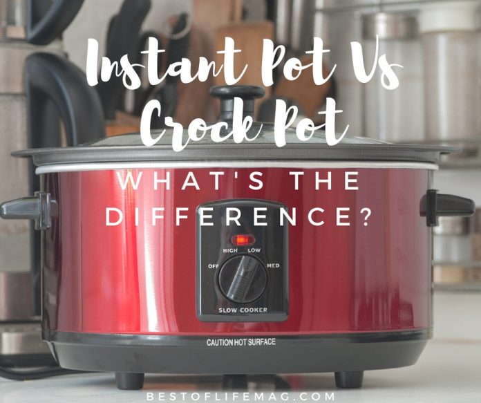 The best way to understand those differences is to look at the Instant Pot vs. Crock Pot and what makes each unique.
