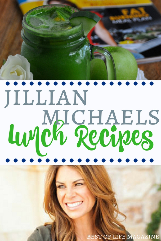 Jillian Michaels lunch recipes can help you get through your day and stay healthy whether you're on the go or staying home for the day.