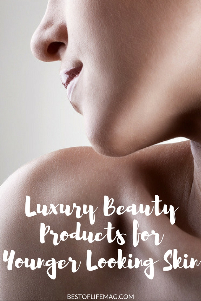 Luxury skincare items are great for achieving younger looking skin. You can add these items to your daily routine for amazing results and quickly!