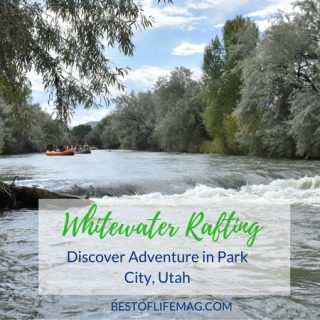 Park City Utah is the perfect place to discover and explore new adventures while whitewater rafting!