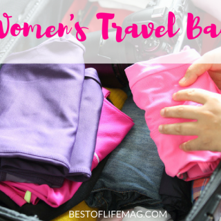 The best women's travel bags are beautiful, stylish, efficient, and and useful! There is a perfect bag for every occasion and these are some great options!