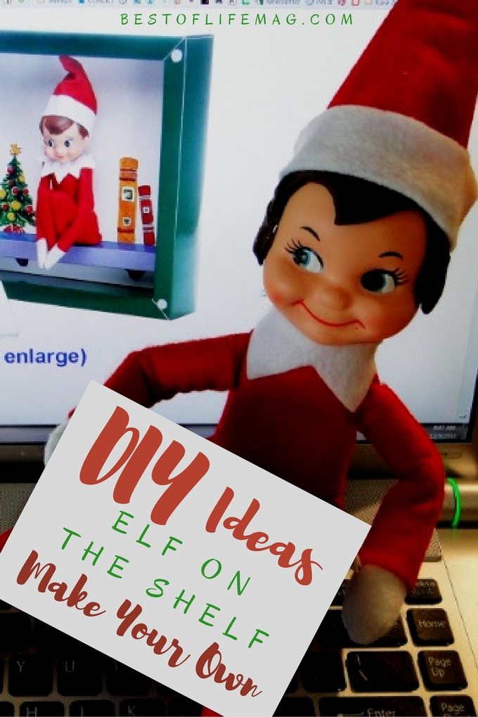Take creativity to new levels with DIY Elf on The Shelf ideas to help you make your own elf or elves and have some fun with them all.