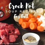 Crock pot soups for fall help fill you up, keep you healthy, and keep you warm during those chilly days that fill the season. Simple Crockpot Soups | Crockpot Soups Healthy | Slow Cooker Soup Recipes | Crockpot Soup Vegetarian | Slow Cooker Beef Soup Recipes | Slow Cooker Vegetable Soup Recipes | Cheap Crockpot Soup Recipes | Slow Cooker Potato Soup Recipes