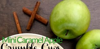 Mini Apple Crumble Cups are so easy to make and they're delicious! They'll be your go to dessert option for parties, weeknight desserts, and family events.