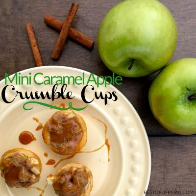 Mini Apple Crumble Cups are so easy to make and they're delicious! They'll be your go-to dessert option for parties, weeknight desserts, and family events. What is an Apple Crumble | How to Make an Apple Crumble | Healthy Apple Crumble Recipe | Basic Apple Crumble Recipe | How to Bake with Apples | How to Bake an Apple