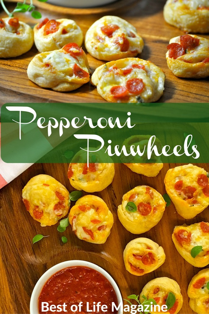 Pepperoni Pinwheels are perfect as an appetizer, grab and go snack and kids love them as an after school snack! If you are hosting a party, these are a MUST!