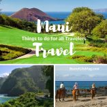 Traveling to Maui is often a treasured opportunity and travel destination for travelers! Enjoy these things to do on Maui that are exciting & different! Unusual Things to do in Maui | Things to do in Maui Out of the Sun | Cultural Things to do in Maui | Things to do in Maui with Kids | Hawaii Travel Tips | Things to do in Maui at Night