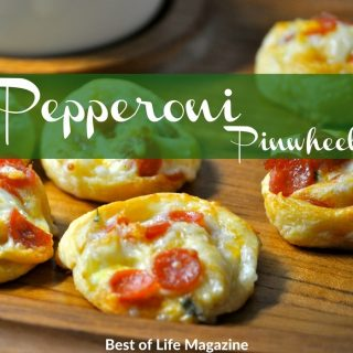 Pepperoni Pinwheels are perfect as an appetizer, grab and go snack and kids love it as an after school snack!