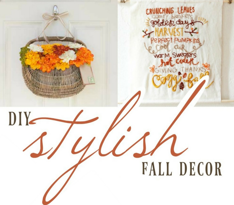Stylish Diy Fall D Cor The Best Of Life Magazine