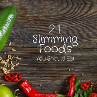 Slimming foods will not only fill you up but help you lose weight or keep it off naturally. Even if your job requires you to sit for hours.