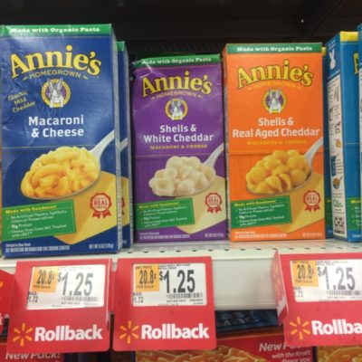 Annies Macaroni and Cheese Snacks