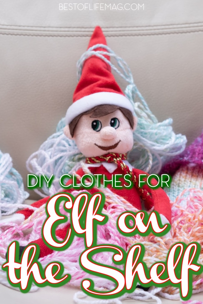 Use these creative and easy DIY Elf on The Shelf clothes and elf outfit ideas as the starting point for tonight's scene. Elf on The Shelf Clothes DIY | Elf on The Shelf Clothes Pattern | Elf on The Shelf Clothes Pattern Free | Elf on The Shelf DIY Ideas | Tips for Elf on The Shelf #elfontheshelf #DIY via @amybarseghian