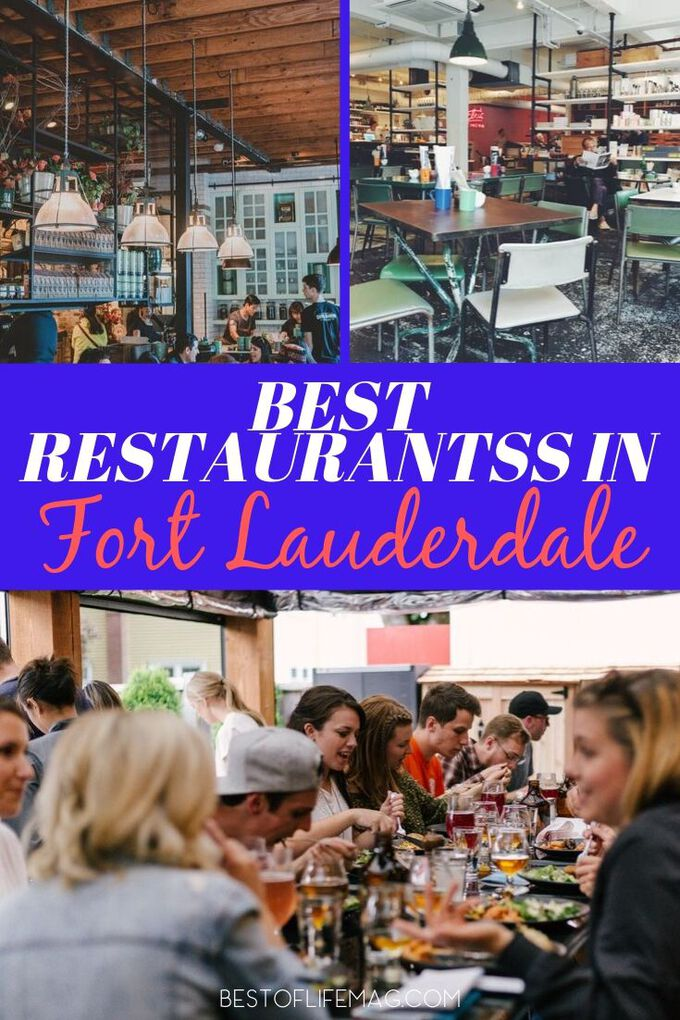 Fort Lauderdale is a foodie's paradise and you must visit these top three best restaurants in Fort Lauderdale next time you visit the area. Things to do in Fort Lauderdale | Places to Eat in Fort Lauderdale | Top Restaurants in Fort Lauderdale | Travel Tips for Fort Lauderdale #travel #foodie