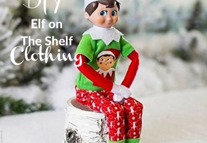 Use these creative and easy DIY Elf on The Shelf clothes and elf outfit ideas as the starting point for tonight's scene. Elf on the Shelf Ideas | DIY Elf on the Shelf | Make your Own Elf on the Shelf Clothes