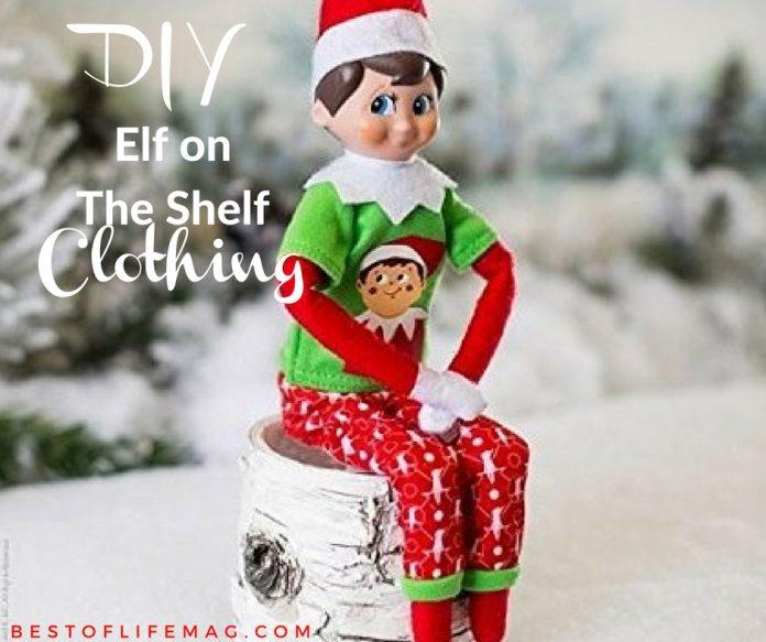 Easy DIY Elf on The Shelf Clothes