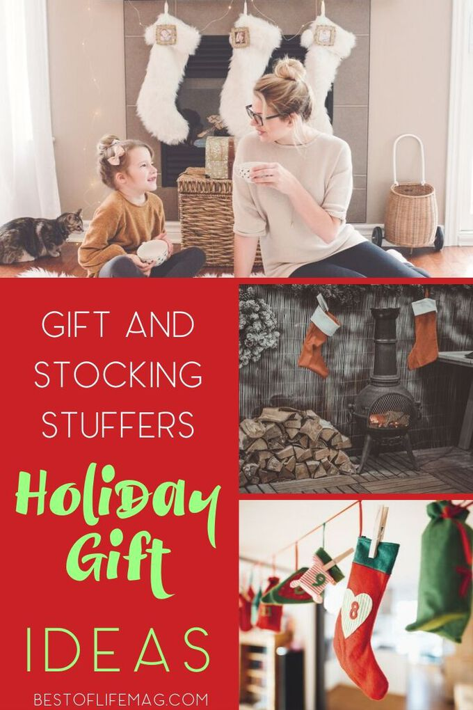 Our favorite gifts and stocking stuffers ideas for the holiday season cover all ages and fit any budget, whether large or small! Gift Ideas | Gifts for men | Gifts for Women | Gifts for Techies | Gifts for Kids | Holiday Gift Guide | Stocking Stuffer Ideas for Men | Stocking Stuffer Ideas for Women | Stocking Stuffer Ideas for Kids #holidays #gifts via @amybarseghian