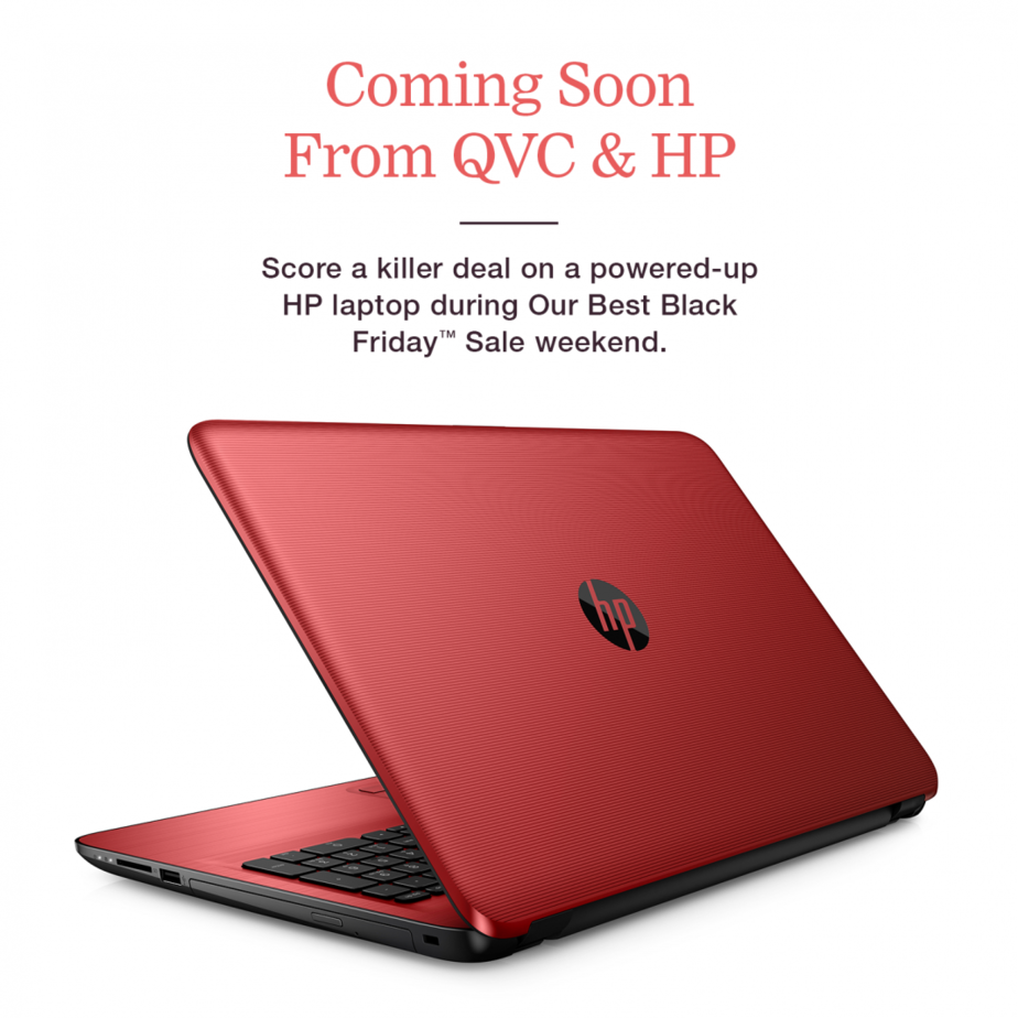 The HP 15 Series Laptop will be for sale as the lowest priced laptop ever offered by QVC.