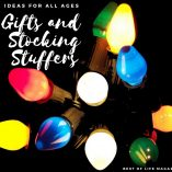 Our favorite gifts and stocking stuffers ideas for the holiday season cover all ages and fit any budget, whether large or small! Stocking Stuffer Ideas for Toddlers | Stocking Stuffer Ideas for Girlfriend | Stocking Stuffer Ideas for Boyfriend | Gifts to Get for Stockings | How to Stuff a Stocking