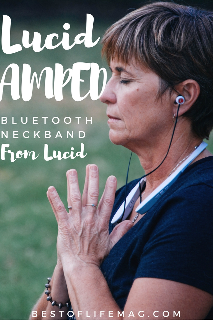 Lucid AMPED Bluetooth Neckband Headphones give me the option to listen while allowing just the right amount of noise in based on my needs. Tech Tips | Tech Reviews | Gift Guide | Best Headphones | Workout Gear | Tech Gifts #music #tech
