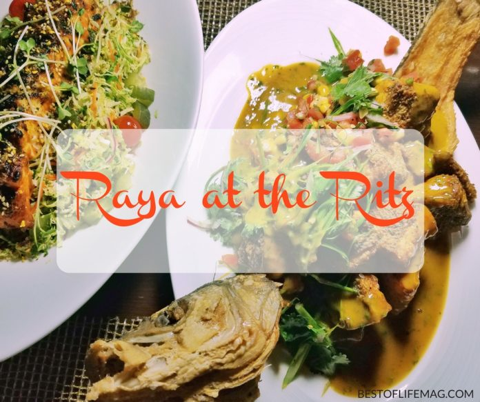 Delight in a unique fall culinary experience at Raya at the Ritz Carlton Laguna Niguel. You can experience all of the awesome fall culinary offerings too!