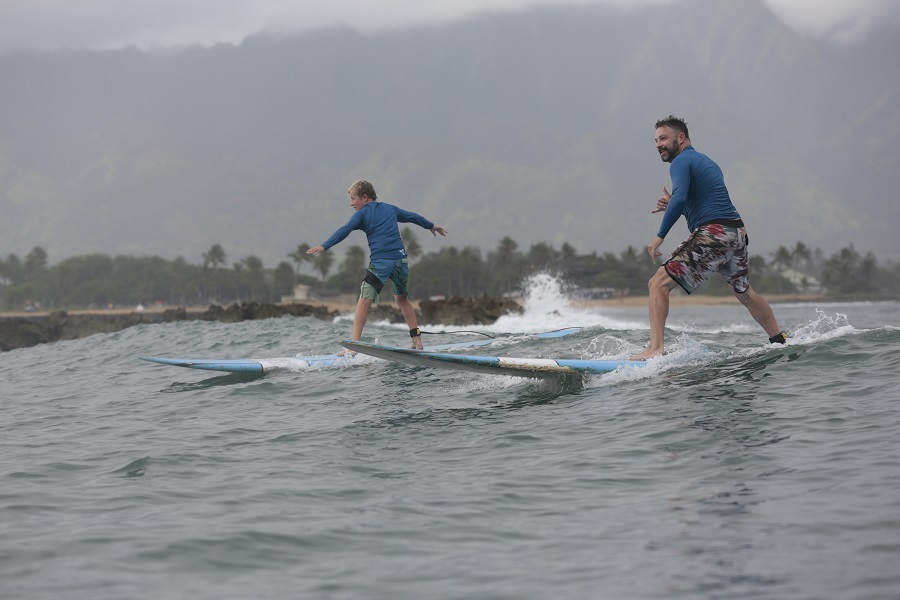 Learn to surf North Shore with Uncle Bryan's Sunset Suratt Surf School on Oahu and you will learn from the best of the best on the island! Learn to Surf Near Me | How to Surf for Beginners | Learn to Surf Camp | Surfing Lessons Near Me | Surfing Tricks for Beginners