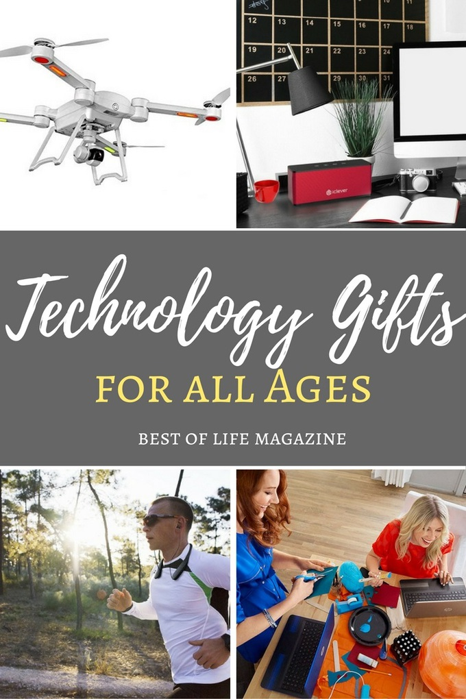 Technology gifts can impress and make life easier all year long! These top tech gift ideas for the holiday season are also great for all ages. Gift Ideas | Gift Guide | Technology Gifts for Everyone | Technology Gifts for Men | Technology Gifts for Women | Christmas Gift Ideas | Holiday Gift Ideas #gifts #tech via @amybarseghian