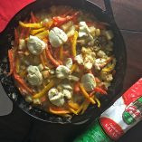 Making the best breakfast frittata is easy when you use leftovers from our Hot Italian Cheese Balls.