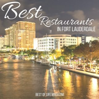 Fort Lauderdale is a foodie's paradise and you must visit these top three best restaurants in Fort Lauderdale next time you visit the area. New Restaurants in Fort Lauderdale | Seafood Restaurants in Fort Lauderdale | Lunch Restaurants in Fort Lauderdale | Dinner Restaurants in Fort Lauderdale | Breakfast Restaurants in Fort Lauderdale