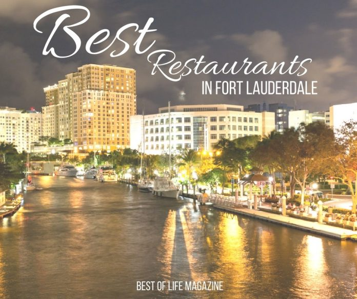 Fort Lauderdale is a foodie's paradise and you must visit these top three best restaurants in Fort Lauderdale next time you visit the area.