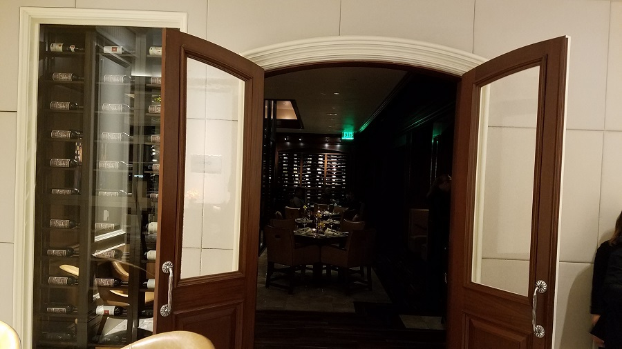 Experience a true wine lovers dining experience at enoSTEAK Ritz Carlton Laguna Niguel.