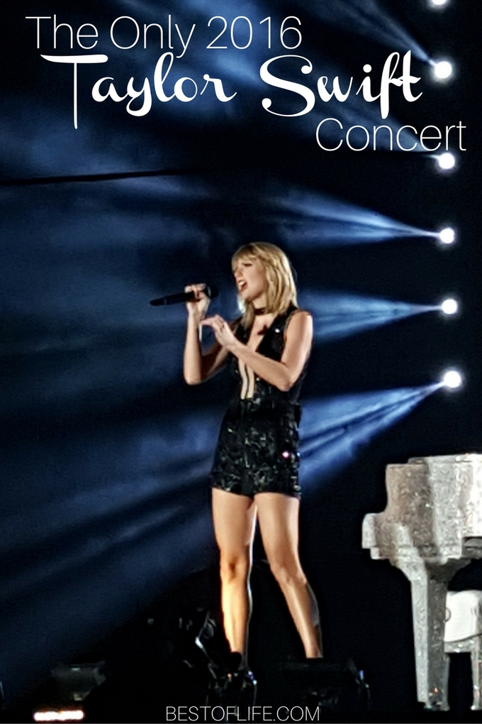 The only Taylor Swift concert of 2016 was amazing and flawless. The fans were rightfully ecstatic! It was an amazing experience!
